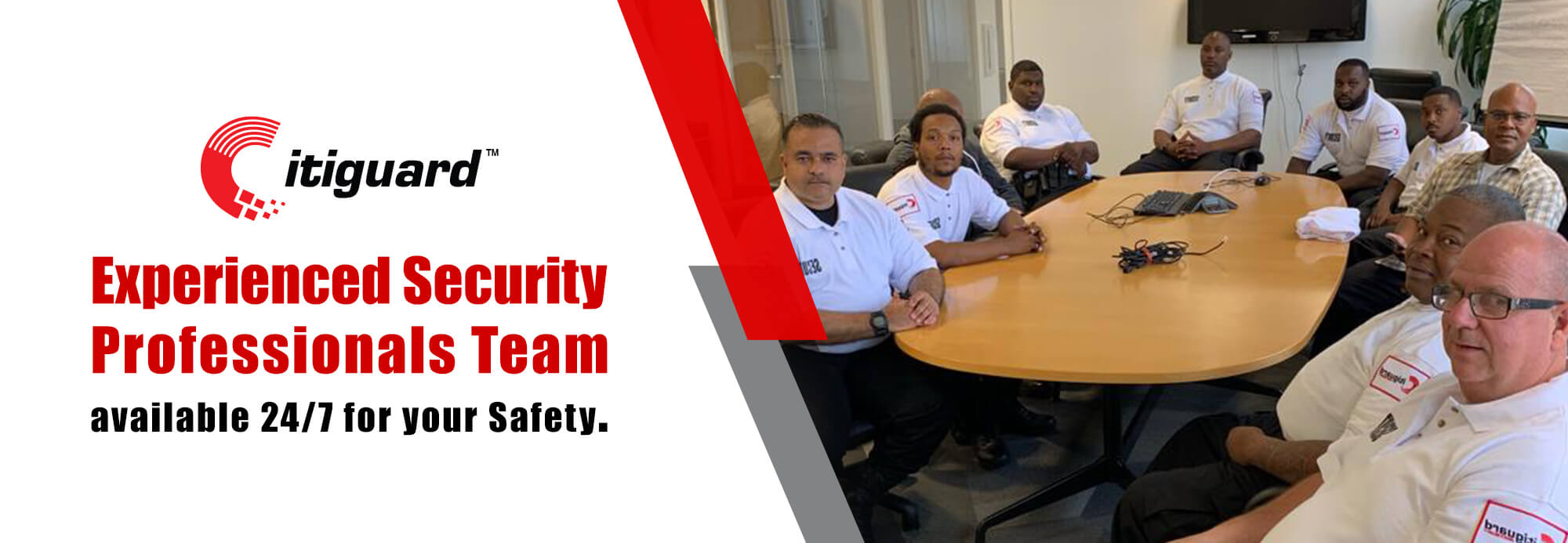Experienced Security Professionals Team